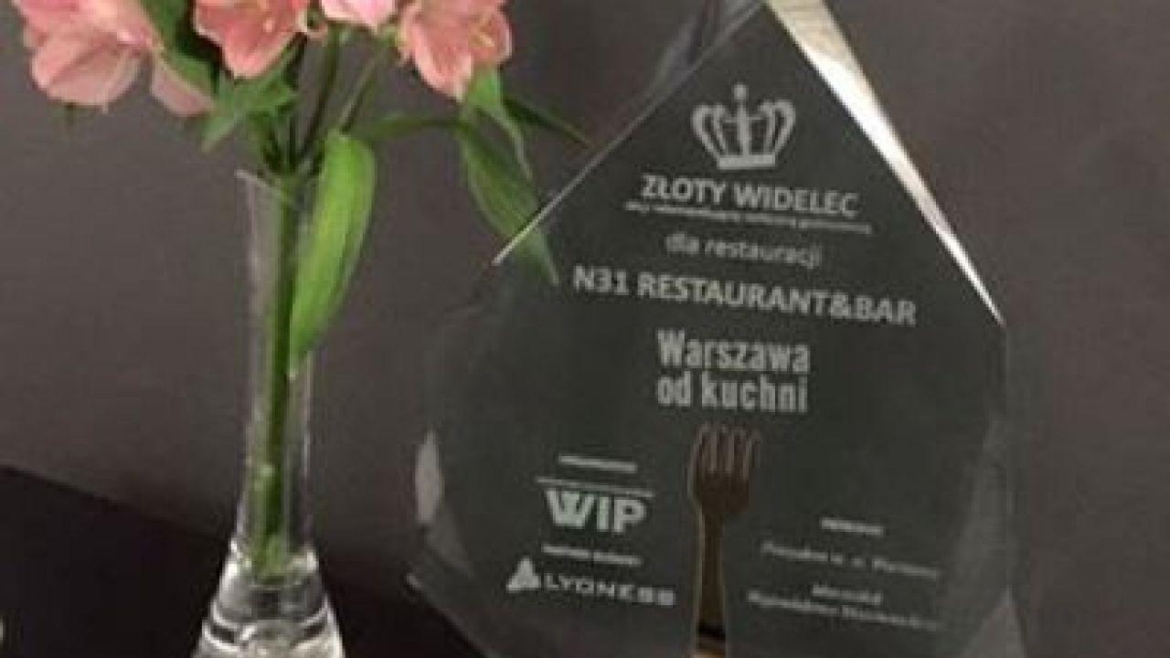 Złoty Widelec dla N31 restaurant&bar!