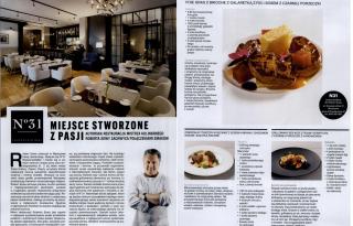 """Magazyn """"Esquire"""" również polubił naszą restaurację..."""