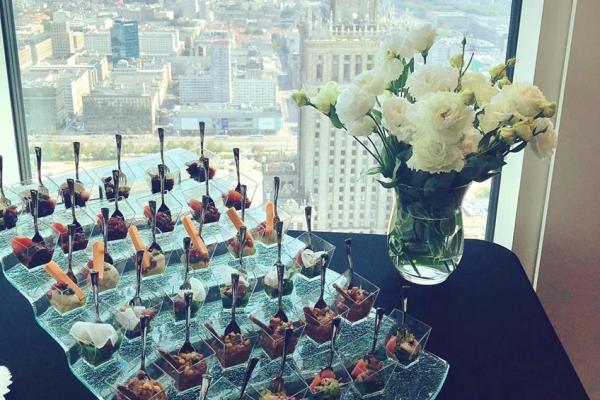 Catering na 44 piętrze!