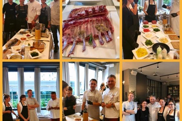 Warsztaty kulinarne z kucharzami N'31 dla marki Ambition.
