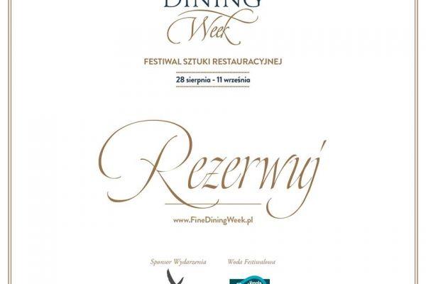 Fine Dining Week z N31!