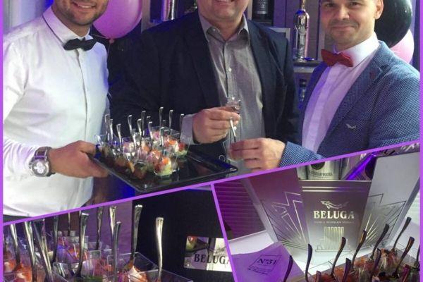 Food pairing N31 restaurant dla Beluga!