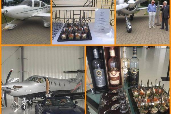 Premiera samolotu Pilatus i food pairing N31 dla Beluga!