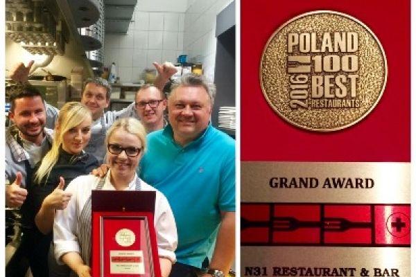Grand Award dla N'31 w kategorii 3 widelce plus!