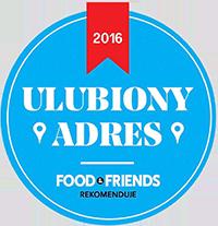 ULUBIONY ADRES - FOOD&FRIENDS REKOMENDUJE