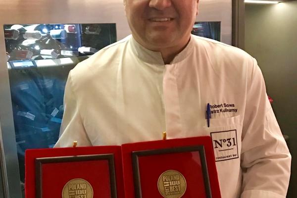 Najlepsza restauracja w Polsce 2017 i Szef Roku 2017!!!