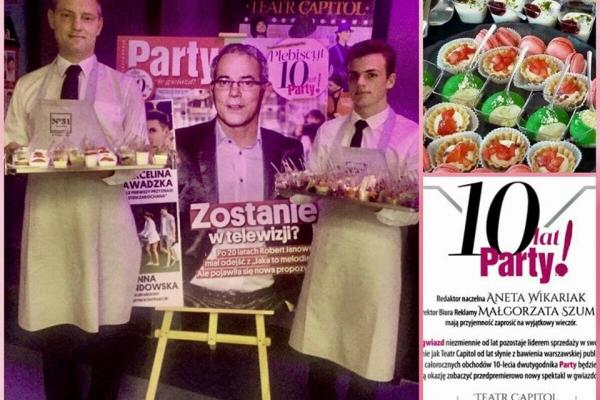 """Premiera spektaklu na 10tych urodzinach """"Party""""!"""