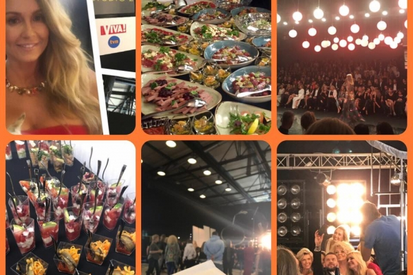 Catering N'31 na sesji gwiazd dla Vivy oraz backstage Flesz Fashion Night!